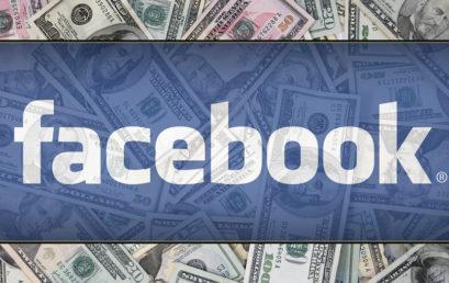 Facebook à vendre