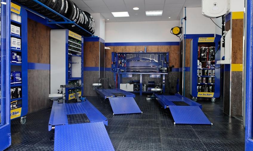 Franchise Doc'Biker : Ouvrir un centre de réparation pour 2 roues